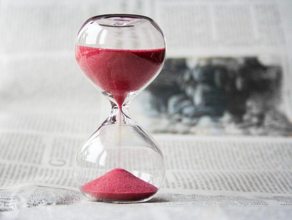 ダイエットと時間の関係